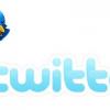 Twitter Logo with Birdie