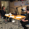 """Suzanne McCabe (left), Scholastic Editor-at-Large and host of the new podcast, """"Scholastic Reads,"""" chats with Scholastic Editor, Cheryl Klein (right), about her harrowing experiences trying to keep the """"Harry Potter"""" manuscripts top secret."""