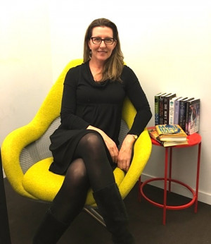 Bronwen Hruska, Publisher, Soho Press