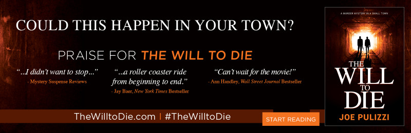 The Will to Die Book Cover + Promotion