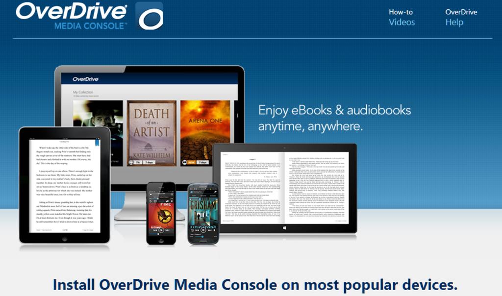 OverDrive – Yutan Public Library